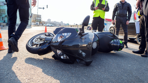 How Fault is Determined in a Motorcycle Accident